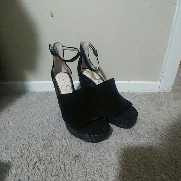 2aa1c2b4347 Jessica Simpson Suella Espadrille Wedge Sandals